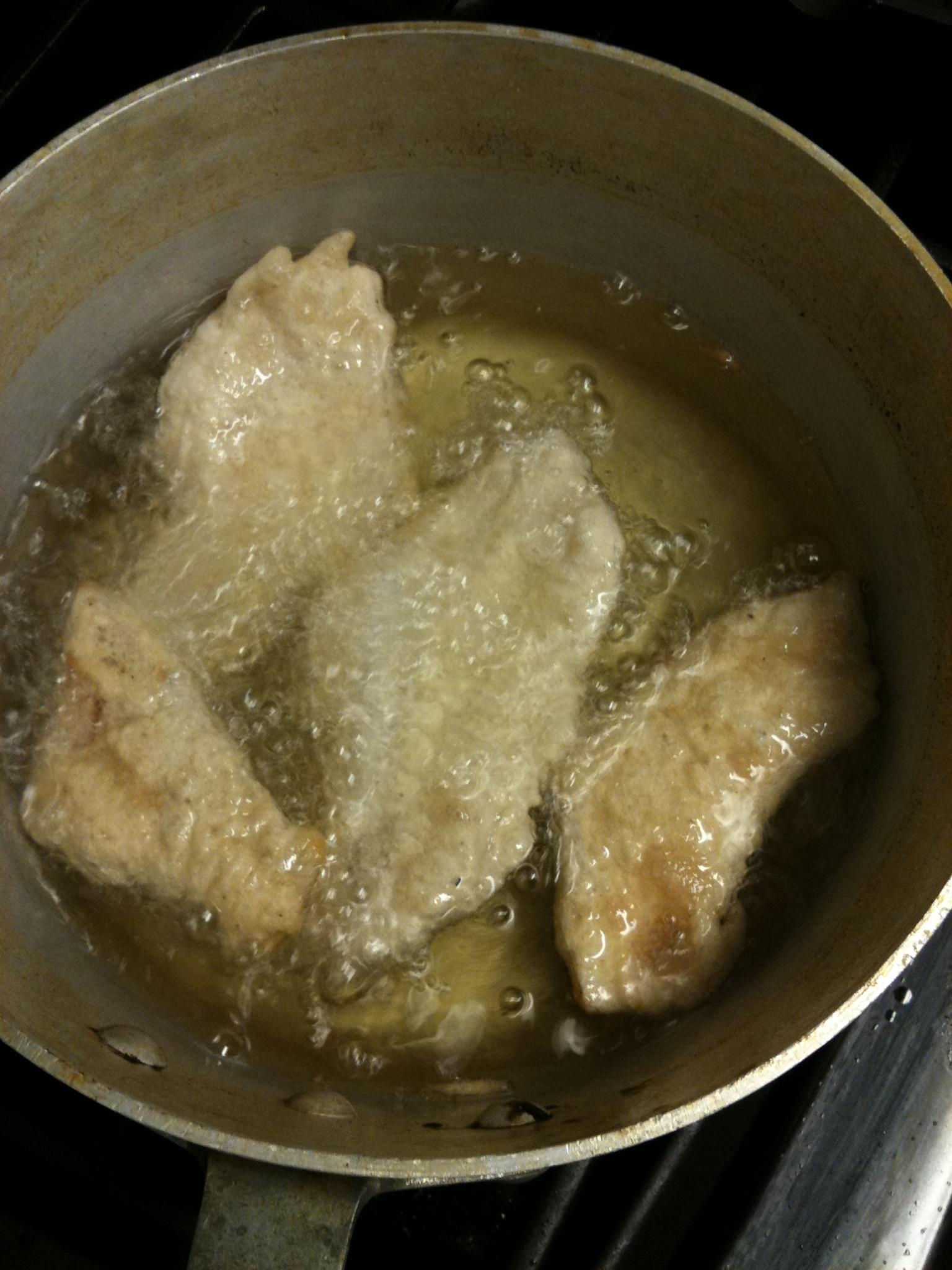 Fish batter recipe pan fry for Fish batter for cod