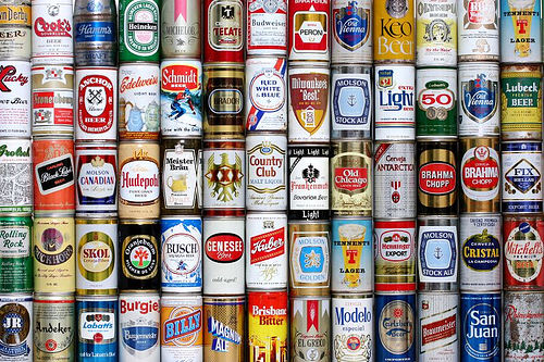 Image result for beer cans